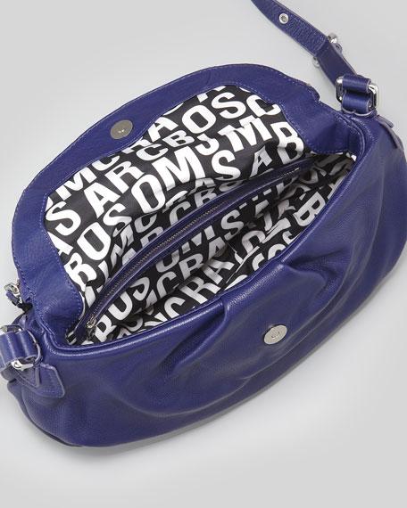 Classic Q Natasha Crossbody Bag, Electric Blue