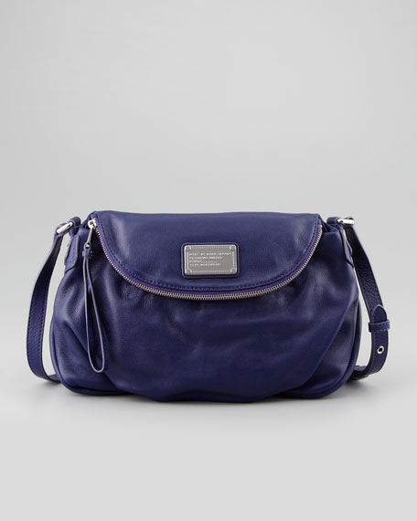 Classic Q Natasha Crossbody Bag, Electric Blue