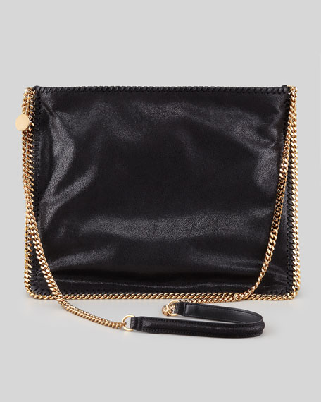 Falabella Medium Crossbody Bag, Black