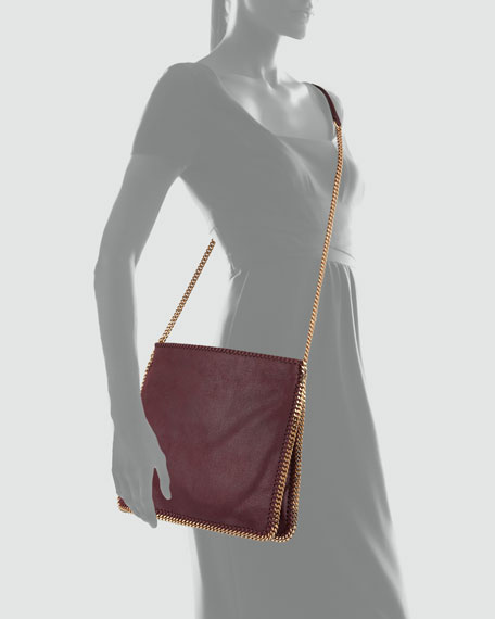 Falabella Medium Crossbody Bag, Plum