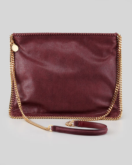 Falabella Medium Crossbody Bag, Plum