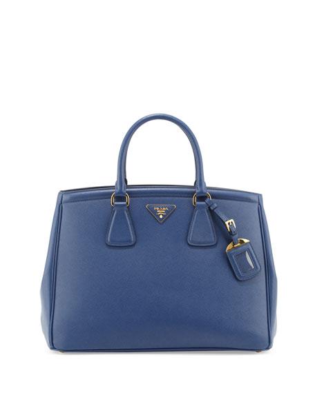 Saffiano Parabole Tote, Royal Blue (Inchiostro)