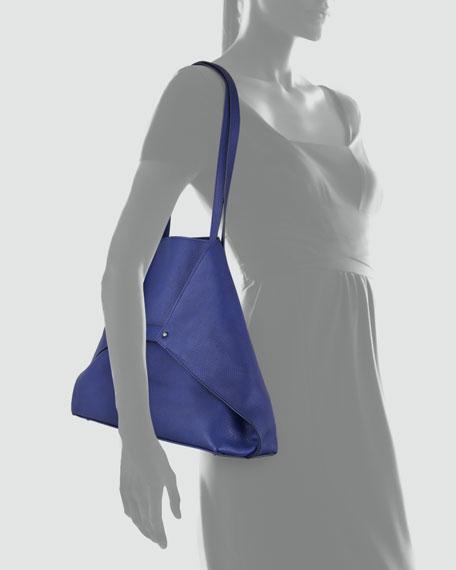 Ai Cervo Medium Shoulder Tote Bag, Ocean