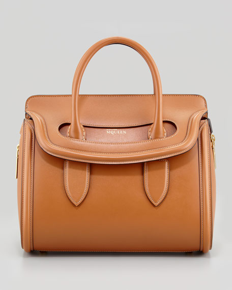 Small Heroine Satchel Bag, Camel
