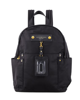 MARC by Marc Jacobs Pretty Nylon Tech Fabric Backpack, Black