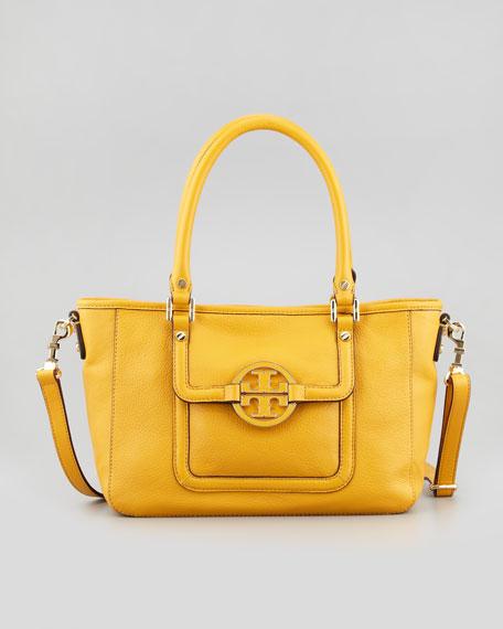 Amanda Mini Satchel Bag, Honey Mustard