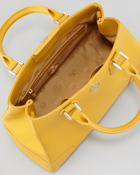 Robinson Triangle Tote Bag, Honey Mustard