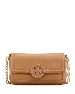 Tory Burch Amanda Chain Strap Mini Crossbody Bag, Royal Tan