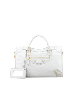 Balenciaga Giant 12 Golden City Bag, Gris Glace