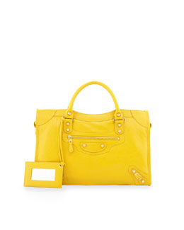 Balenciaga Giant 12 Golden City Bag, Tournesol
