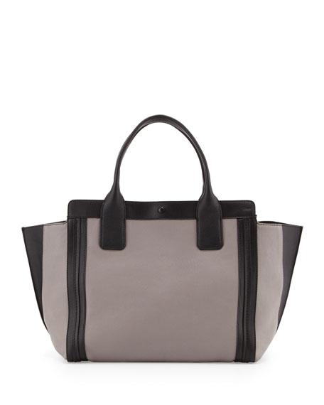Alison Small Tote Bag, Cashmere Gray