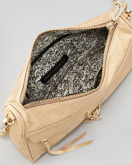 MAC Clutch Crossbody Bag, Gold
