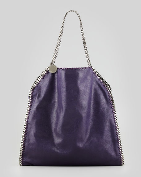 Falabella Big Tote Bag, Berry