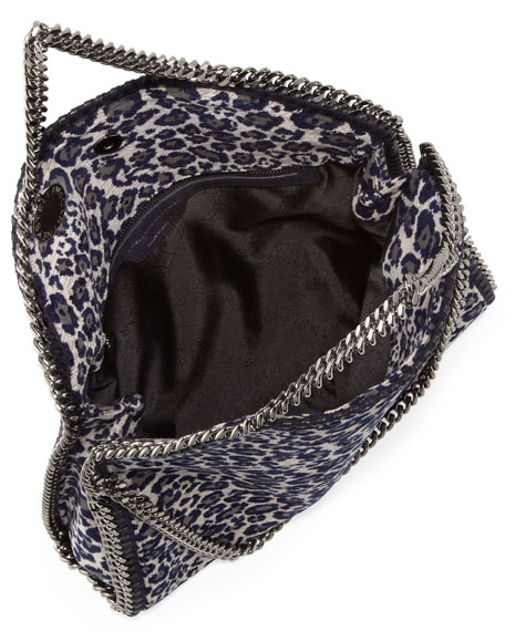 Leopard Print Falabella Tote Bag