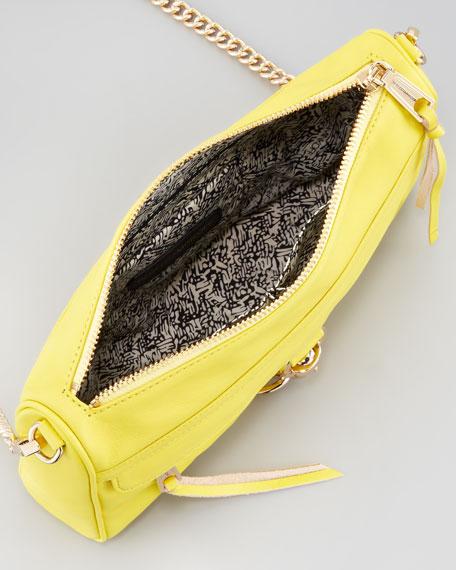 MAC Clutch Crossbody Bag, Chartreuse
