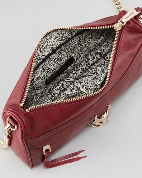 Rebecca Minkoff MAC Clutch Crossbody Bag, Port
