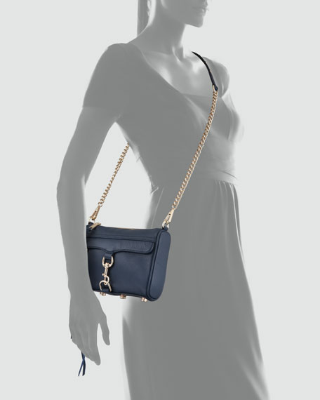 Mini MAC Clutch Bag, Midnight