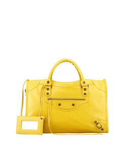 Balenciaga Classic City Bag, Tournesol