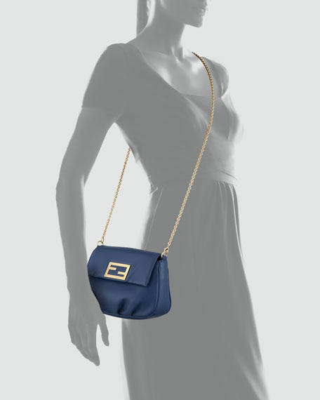Fendista Pochette Crossbody Bag, Royal