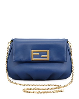 Fendi Fendista Pochette Crossbody Bag, Royal