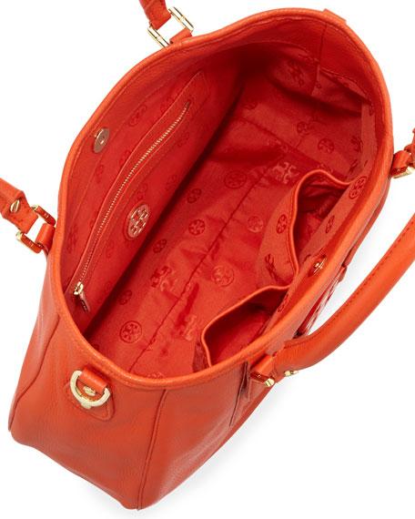 Amanda Classic Hobo Bag, Blood Orange