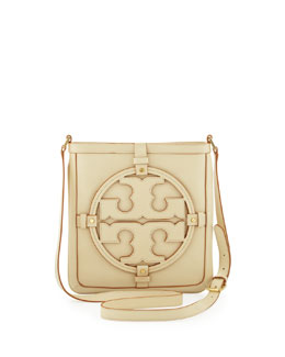 Tory Burch Holly Bookbag Crossbody, Vanilla