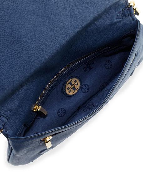Amanda Logo Clutch Bag, Night Sky