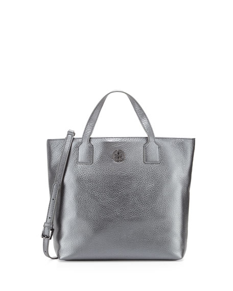 Emmy Crossbody Tote Bag, Gunmetal