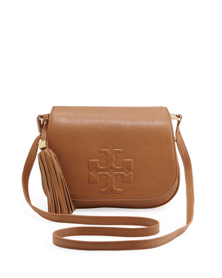 Thea Crossbody Saddle Bag, Royal Tan