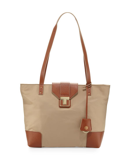 Penn Mini Tote Bag, Mid Camel