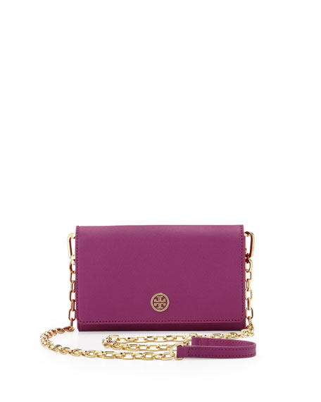 Robinson Wallet On A Chain, Royal Fuchsia