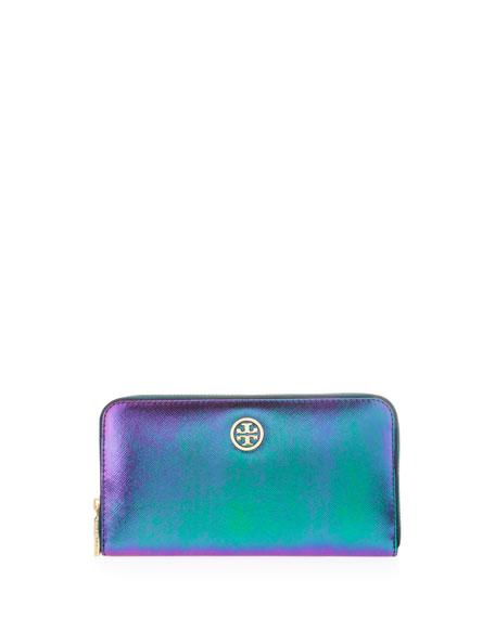 Robinson Hologram Wallet, Green