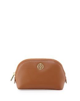 Tory Burch Robinson Makeup Bag, Tan