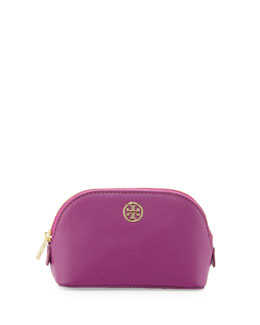Tory Burch Robinson Makeup Bag, Royal Fuchsia