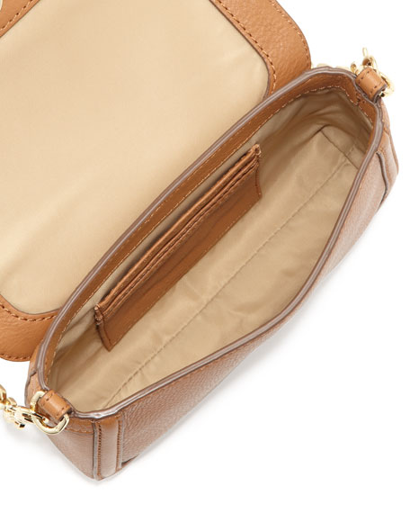 Amanda Chain Strap Mini Crossbody Bag, Royal Tan
