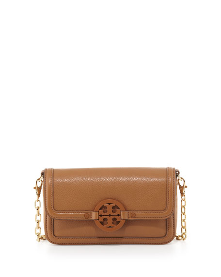 Amanda Chain Strap Mini Crossbody Bag, Royal Tan