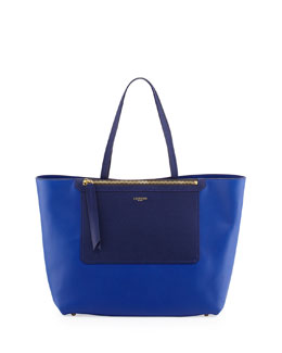 Lanvin New Easy Shopper Tote Bag, Blue