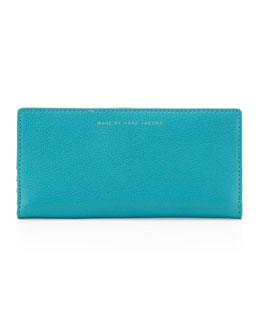 MARC by Marc Jacobs Sophisticated Slim Wallet, Teal