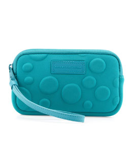 MARC by Marc Jacobs Dots Neoprene Universal Case, Teal