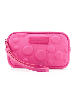 MARC by Marc Jacobs Dots Neoprene Universal Case, Pop Pink