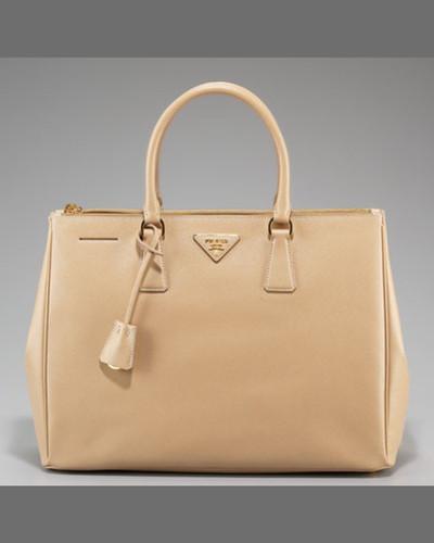 Prada Saffiano Executive Tote Bag, Gray (Marmo)