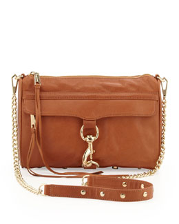 Rebecca Minkoff MAC Clutch Crossbody Bag, Toast