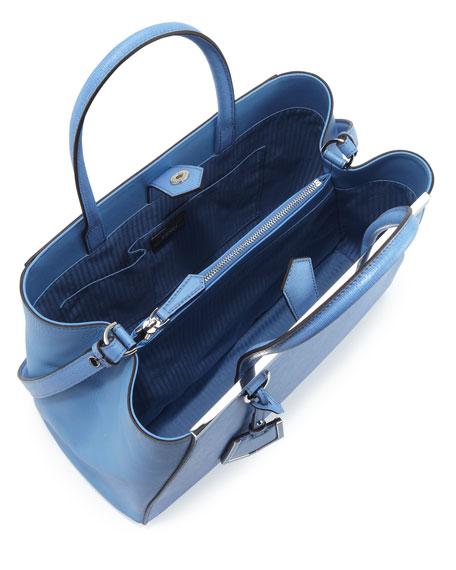 2Jours Saffiano Tote Bag, Periwinkle