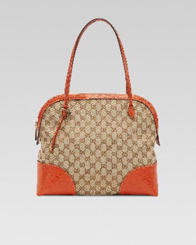 Gucci Medium GG Zip Dome Tote Bag, Mystic White
