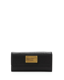 MARC by Marc Jacobs Classic Q Continental Wallet, Black