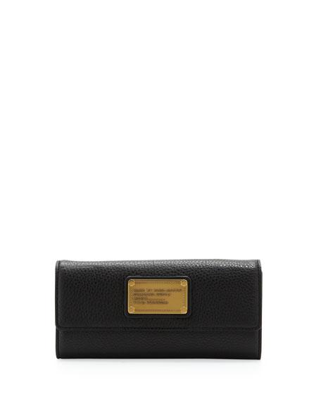 Classic Q Continental Wallet, Black