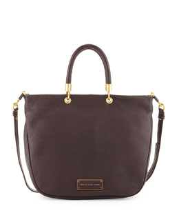 MARC by Marc Jacobs Too Hot to Handle Mini Shopper Tote Bag, Carob Brown
