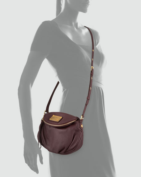 Classic Q Natasha Mini Crossbody Bag, Cardamom Brown