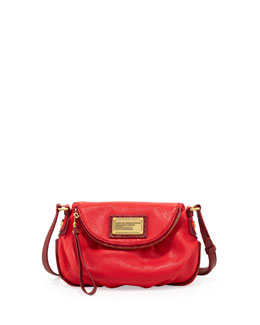 MARC by Marc Jacobs Natasha Mini Tonal Crossbody Bag, Apple Red