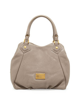 MARC by Marc Jacobs Classic Q Francesca Tote Bag, Warm Zinc
